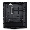 CiT MTX-007B Mini ITX Case 180W PSU Black Interior VESA Mountable - Alternative image