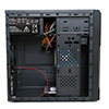 CiT MX-A05 Black Micro ATX Chassis Black Interior 500W PSU USB3 Cable Management - Alternative image