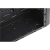 CiT MX-A07 Black Micro ATX Chassis Black Interior 500W PSU USB3 Cable Management - Alternative image