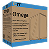 CiT Omega Solid Front With 1 ARGB Fan Included and ARGB Hub With Tempered Glass - Alternative image