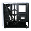 CiT Prism White Mid-Tower RGB Case With 2 x RGB Front Fans 1 x USB 3.0 & Side Window - Alternative image