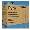 CiT Pyro Gaming Case ARGB Front Strip 1x ARGB Fan TG Side Panel EPE - Alternative image