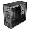 CiT QC-203 M-ATX Case USB3 Rubber Coated Fascia Black Interior No PSU - Alternative image