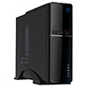 View more info on CiT S012B Black Slim Micro ATX or ITX Case 300W PSU Built-in Card-reader...