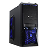 View more info on CiT Vantage Gaming Case Black HD Audio Black Interior 4 Fans Card Reader 500w...