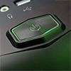 CiT Vantage Green Midi Mesh Gaming Case Black Interior 4 Fans (3 Green LED) Card Reader No PSU - Alternative image