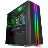 CiT Zoom Front Panel ABS + Rainbow RGB Strip With 3pin of 5V Addressable - Alternative image