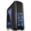Fierce PC Nebula Gaming PC Case Blue LED Fans - Alternative image
