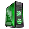 Game Max Amethyst RGB Mid Tower ATX 2 x RGB Front Fans Tempered Glass Side Panel - Alternative image