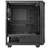 GameMax Diamond Black ARGB Gaming Case 1 x ARGB Fan 1 x ARGB LED Strip - Alternative image