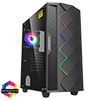 View more info on GameMax Diamond Black ARGB Gaming Case 1 x ARGB Fan 1 x ARGB LED Strip...