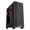 Game Max California RGB Mid-Tower Gaming Case With Acrylic Side Window & LED Strip - Alternative image