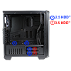 Game Max Carbon Mid-Tower Gaming Case Full Acrylic Side Window - Alternative image