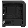 Game Max Centauri Black Grey Gaming Case 1 x 15 Blue LED Rear Fan Side Window  - Alternative image