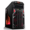 View more info on Game Max Centurion Gaming Case with Front & Rear Red LED Fans 1x USB3...
