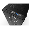 Game Max Cobalt RGB Mid Tower ATX 2 x USB3 Tempered Glass Sides and Front  - Alternative image