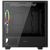 GameMax Commando MATX Black 1x Side Window 1 x ARGB Velocity Fan - Alternative image
