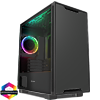 View more info on GameMax Commando MATX Black 1x Side Window 1 x ARGB Velocity Fan...