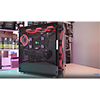Game Max Eclipse Mid-Tower Tempered Glass RGB Gaming Case - Alternative image