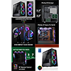 GameMax Eclipse Mid-Tower Tempered Glass RGB Gaming Case - Alternative image