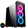 View more info on Game Max Eclipse Tempered Glass RGB Gaming Case...