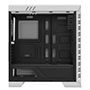 Game Max Elysium White Gaming Case With 2 x 15 Blue LED Front Fans Side Window ETA. 28th of April - Alternative image