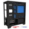 Game Max Explorer Gaming Matx PC Case with 1 x USB3 & Side Window - Alternative image