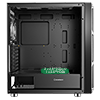 GameMax F15M Mesh Gaming Case 2x 20cm ARGB Fan 1x 12cm ARGB Fan TG Side MB Sync - Alternative image