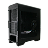 Game Max Falcon Black PC Gaming Case with 2 x RGB Front Fans & Remote Control - Alternative image