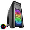 View more info on Game Max Falcon Black PC Gaming Case with 2 x RGB Front Fans & Remote Control...