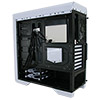 Game Max Falcon White Gaming PC Case With 2 x 12cm 16 Blue LED Fans - Alternative image