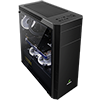 Game Max Graphite RGB Mid-Tower Gaming Case - Alternative image