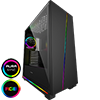 View more info on GameMax Gravity ARGB Sync Gaming Case 2xLED Strips 3xFans 3pin Hub TG Window...