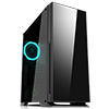 Game Max Hush Silent Mid-Tower Gaming Case With Tempered Glass Side Window 1 x RGB Rear Fan - Alternative image