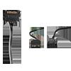 GameMax Ice ARGB Sync White Case 2xLED Strips 3xFans 3pin Hub TG Window - Alternative image