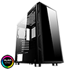 View more info on GameMax Kage Midi Tempered Glass inc Spectrum RGB Hub 3 Pin AURA No Fans...