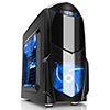 View more info on Game Max Nero Black MATX Case with Front 12cm Blue LED Fan USB3 and Side Window...