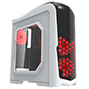Game Max Nexus White Gaming Case 2x RGB Led Front Fans & 1x RGB Rear Side Window - Alternative image