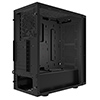 Game Max Obsidian Black Mid Tower ATX 2 x USB3 1 x Rear Black Fan  - Alternative image