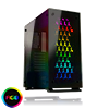 GameMax Onyx RGB Mid-Tower ATX 3 x RGB Fans Tempered Glass Sides & Front - Alternative image
