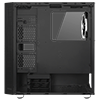 GameMax Osmium Mid-Tower Gaming Case With 4x12cm Spectrum Dual-Ring Fans 1 x RGB Strip Front and Tempered Glass - Alternative image