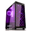Game Max Polaris Black RGB 4 x 12cm RGB Fans Tempered Glass Side & Front Panels ETA. 5th Of May - Alternative image