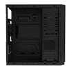 Game Max Proteus Mid-Tower Gaming PC Case with Illuminated front Logo with 1 x USB3  - Alternative image