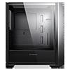 GameMax Saber Midi inc Spectrum RGB Hub 3 Pin AURA Glass Side Panel No Fans - Alternative image