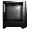 Game Max Saber Midi inc Spectrum RGB Hub 3 Pin AURA Glass Side Panel No Fans - Alternative image