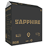 Game Max Sapphire RGB Mid Tower 2 x USB3 Tempered Glass Mirror Sides and Front  - Alternative image