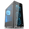 Game Max Sirius Black RGB 4 x 12cm RGB Fans Tempered Glass Side & Front Panels - Alternative image