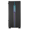 Game Max Solar Black RGB Midi Tempered Glass Gaming Case MB SYNC 3pin - Alternative image