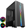 View more info on GameMax Solar Black RGB Midi Tempered Glass Gaming Case MB SYNC 3pin...