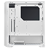 Game Max Solar White RGB Midi Tempered Glass Gaming Case MB SYNC 3pin - Alternative image